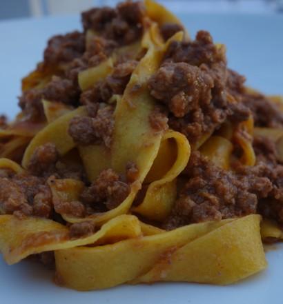 Tagliatelle with Bolognese ragout